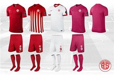 Antalyaspor'un Yeni Sezon Formaları Tanıtıldı