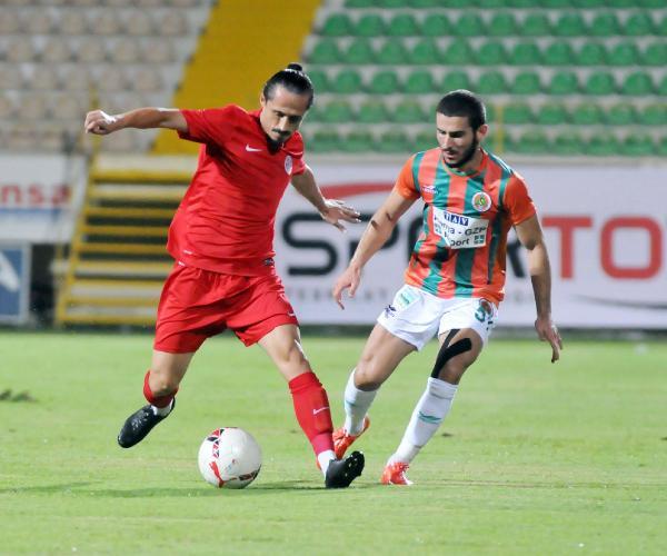 Alanyaspor ile Süper Lig'de İlk Maç