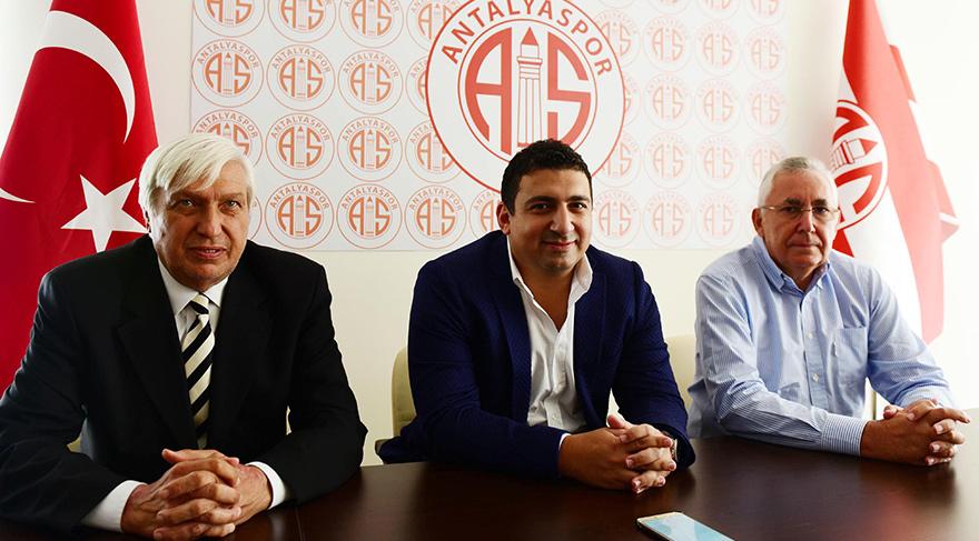 Doğan Hakyemez ile Aydın Örs Antalyaspor'da