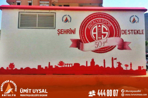 Muratpaşa Belediyesi'nden 50.Yıl Desteği