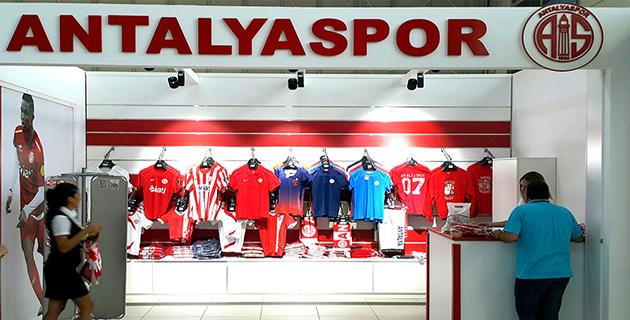 Antalyaspor Store'da Değişime Gidiliyor