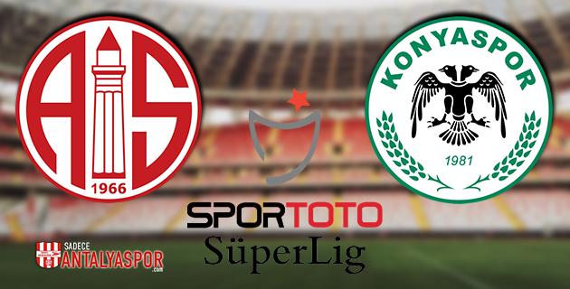 Antalyaspor – Konyaspor (Maç Öncesi)