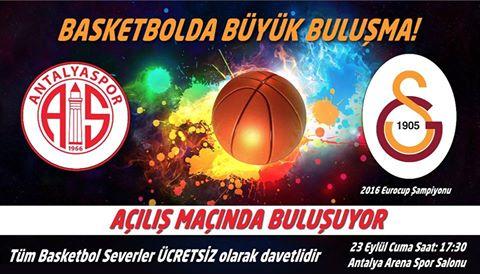 Galatasaray İle Sezon Açılıyor