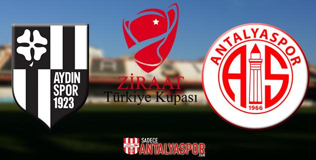 Aydınspor 1923 – Antalyaspor (KADROLAR)