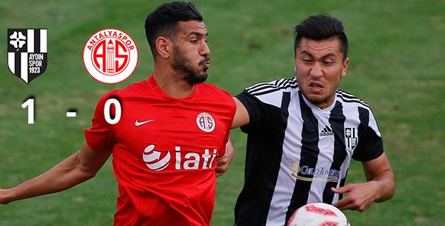 Aydınspor 1923 1 – 0 Antalyaspor