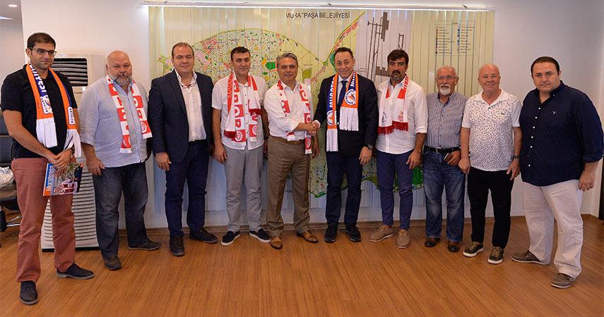 Antalyaspor ve Muratpaşa'dan İş Birliği Protokolü