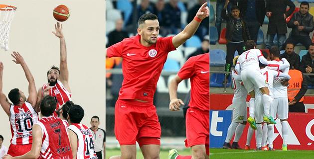 Kayseri Antalyaspor'a Uğurlu Geldi