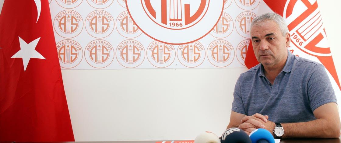 Antalyaspor'dan Çalımbay Açıklaması