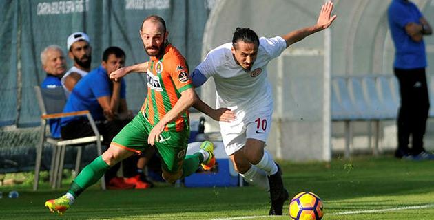 Antalyaspor ile Alanyaspor Yenişemedi