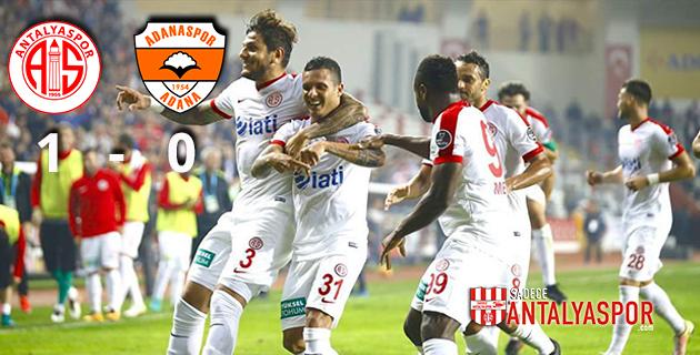 Antalyaspor 1 – 0 Adanaspor