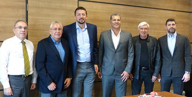 Antalyaspor'dan TBF'ye Ziyaret
