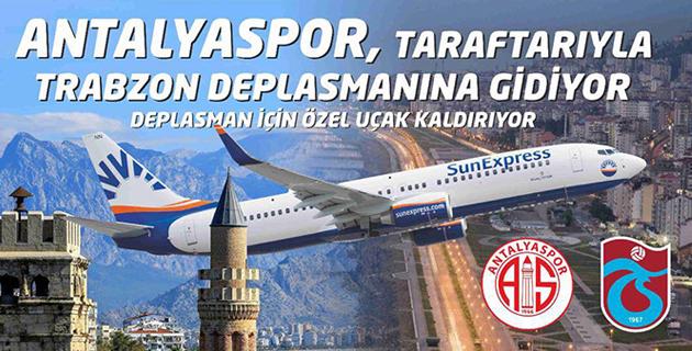 Kulüpten Trabzon'a Uçak Organizasyonu