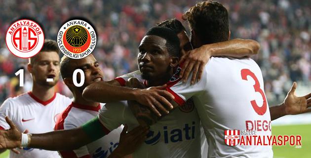 Antalyaspor 1 – 0 Gençlerbirliği
