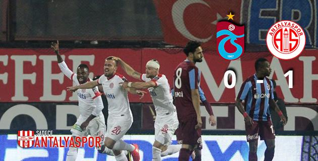 Trabzonspor 0 – 1 Antalyaspor