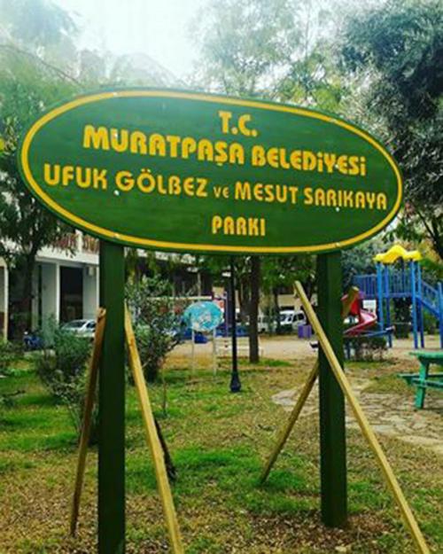 Ufuk ve Mesut'un Adı Parka Verildi
