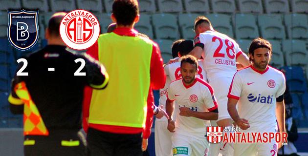 Medipol Başakşehir 2 – 2 Antalyaspor
