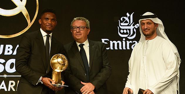 Samuel Eto'o'ya Kariyer Ödülü Verildi