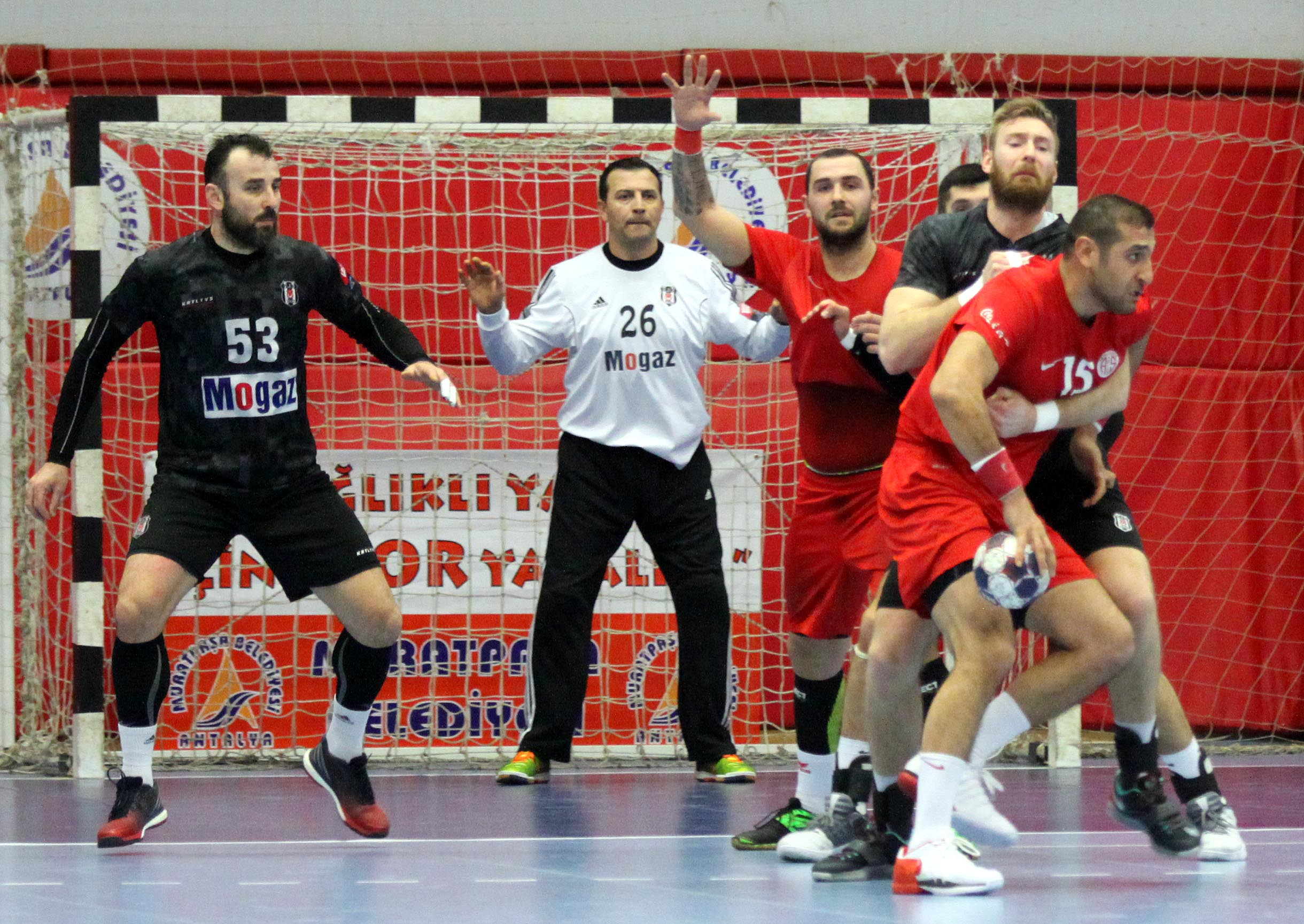 Antalyaspor'dan Mağlubiyet: 25-36