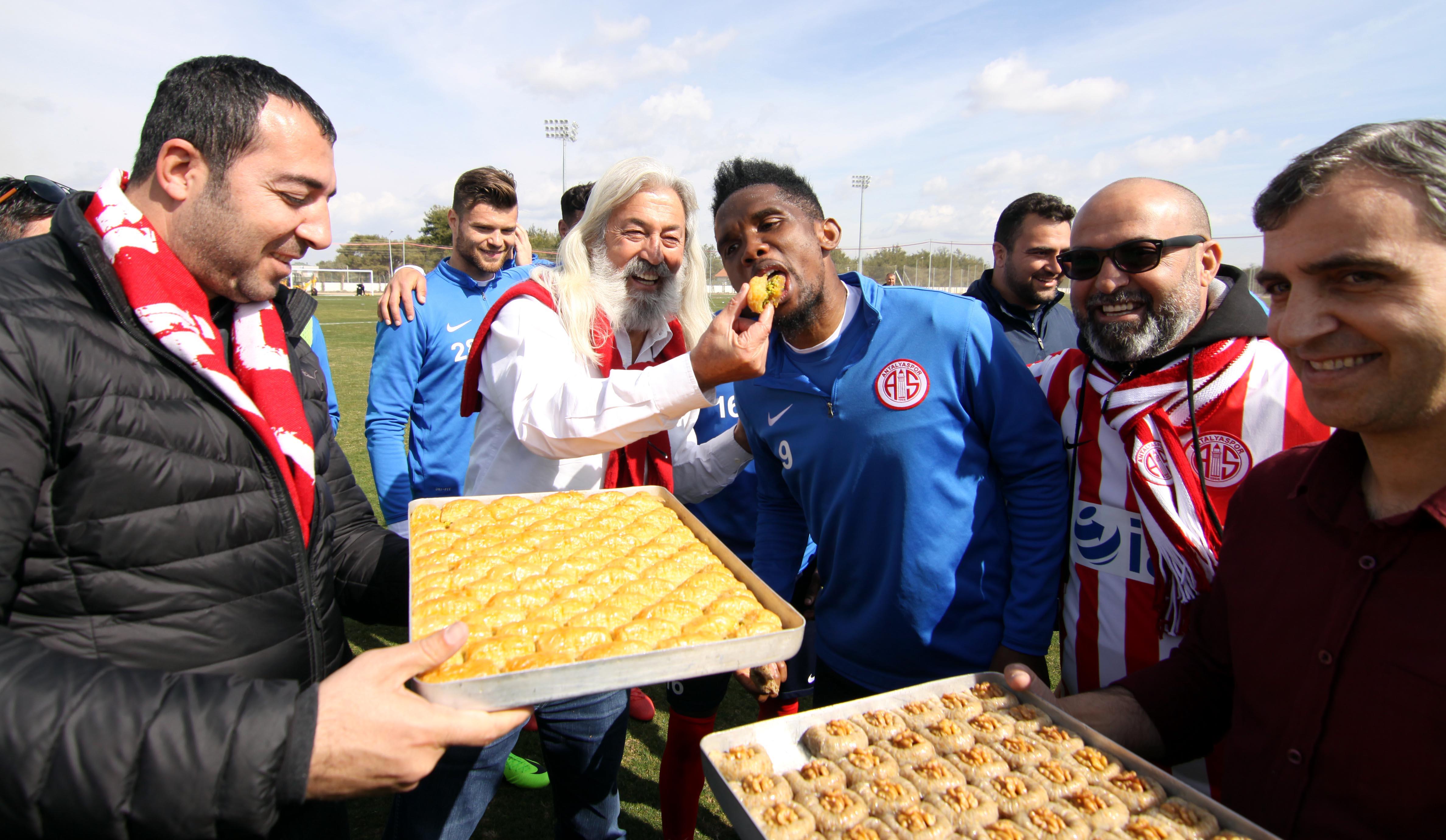 Antalyaspor'a Tatlı Takviyesi