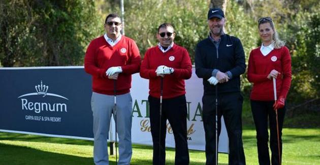 Öztürk Golf Turnuvası'na Katıldı
