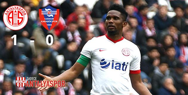 Antalyaspor 1 – 0 K. Karabükspor