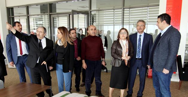 Fatma Şahin'den Tesislere Ziyaret
