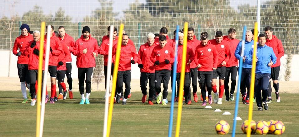 Antalyaspor'da Tempo Yükseldi