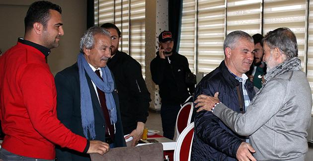 Ahmet Mekin'den Antalyaspor'a Ziyaret