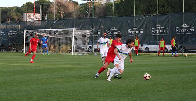 Antalyaspor Hazırlık Maçında Galip