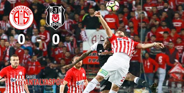 Antalyaspor 0 – 0 Beşiktaş