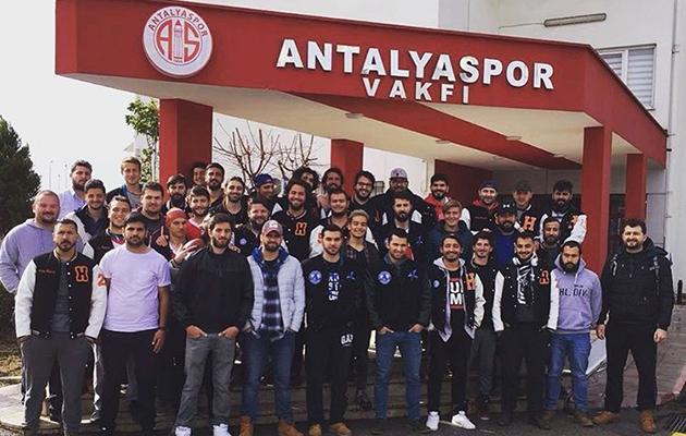 Antalyaspor Afyon'a Hareket Etti
