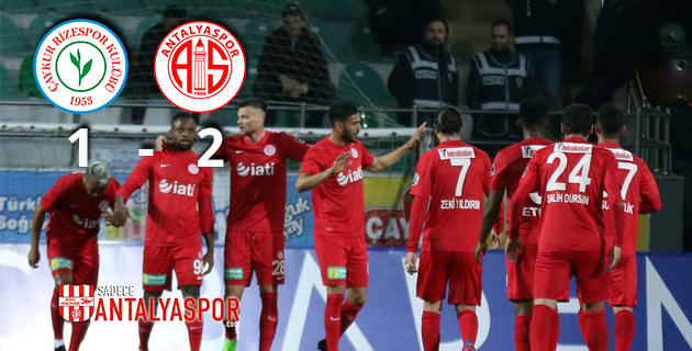 Çaykur Rizespor 1 – 2 Antalyaspor