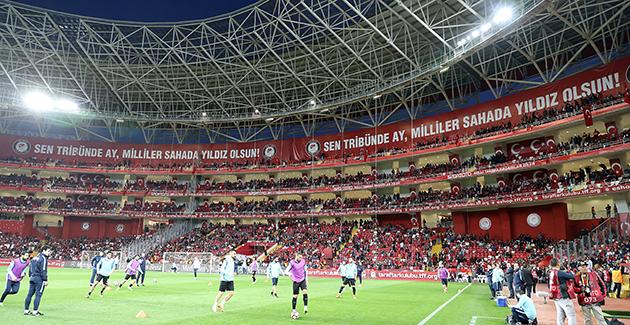 TFF'den Antalya'ya Teşekkür