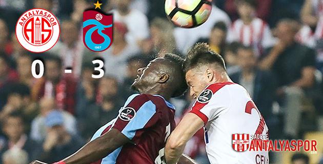 Antalyaspor 0 – 3 Trabzonspor