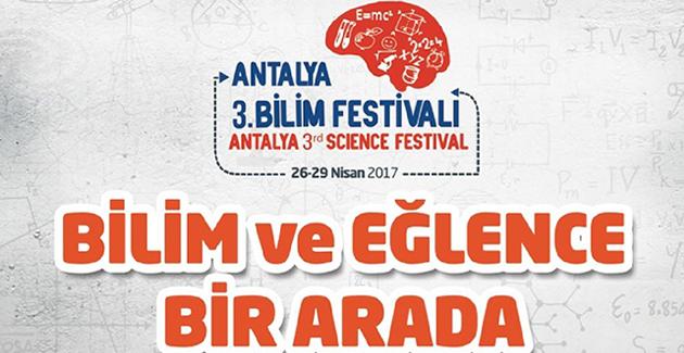 3. Bilim Festivali Ödülleri'ne Antalyaspor Damgası