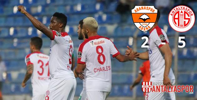 Adanaspor 2 – 5 Antalyaspor