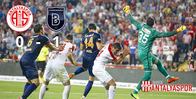 Antalyaspor 0 – 1 Medipol Başakşehir