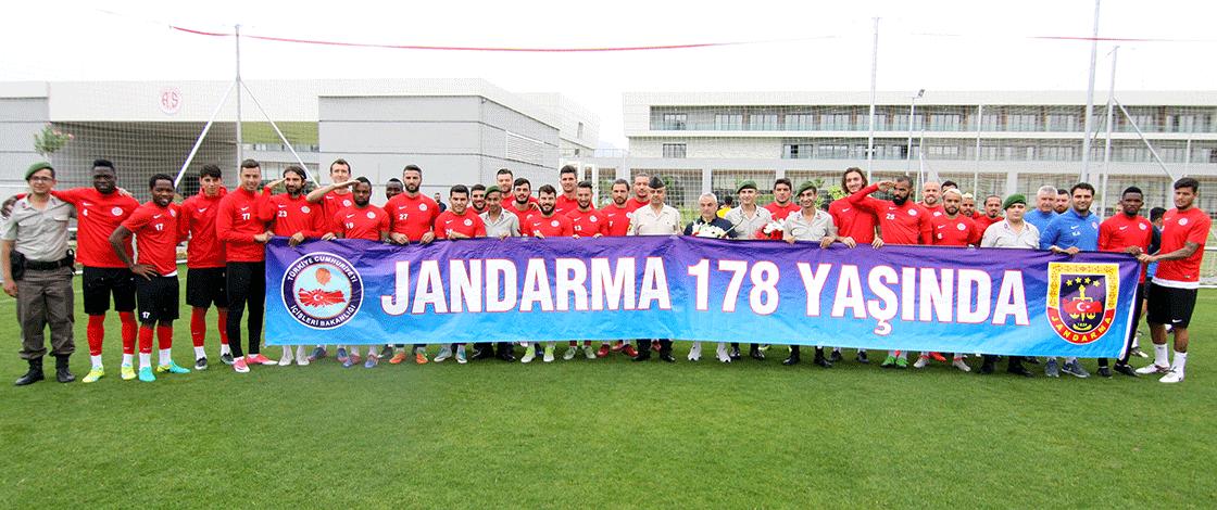 Jandarma'dan Antalyaspor'a Ziyaret