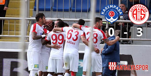 Kasımpaşa 0 – 3 Antalyaspor