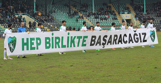 Kocaelispor'dan Antalyaspor'a Teşekkür