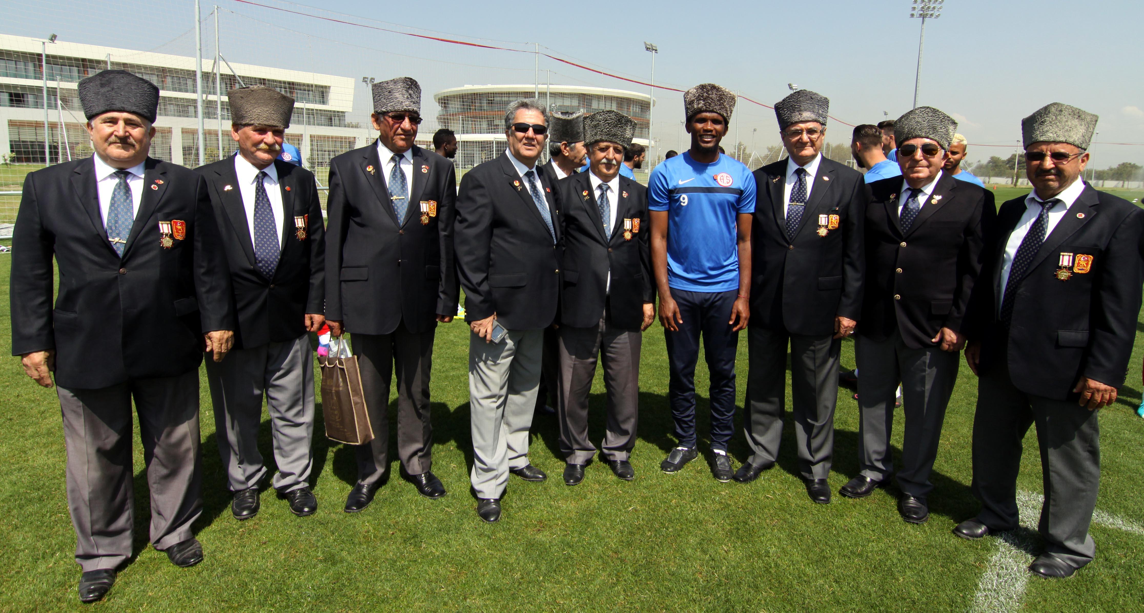 Gazilerden Antalyaspor'a Ziyaret