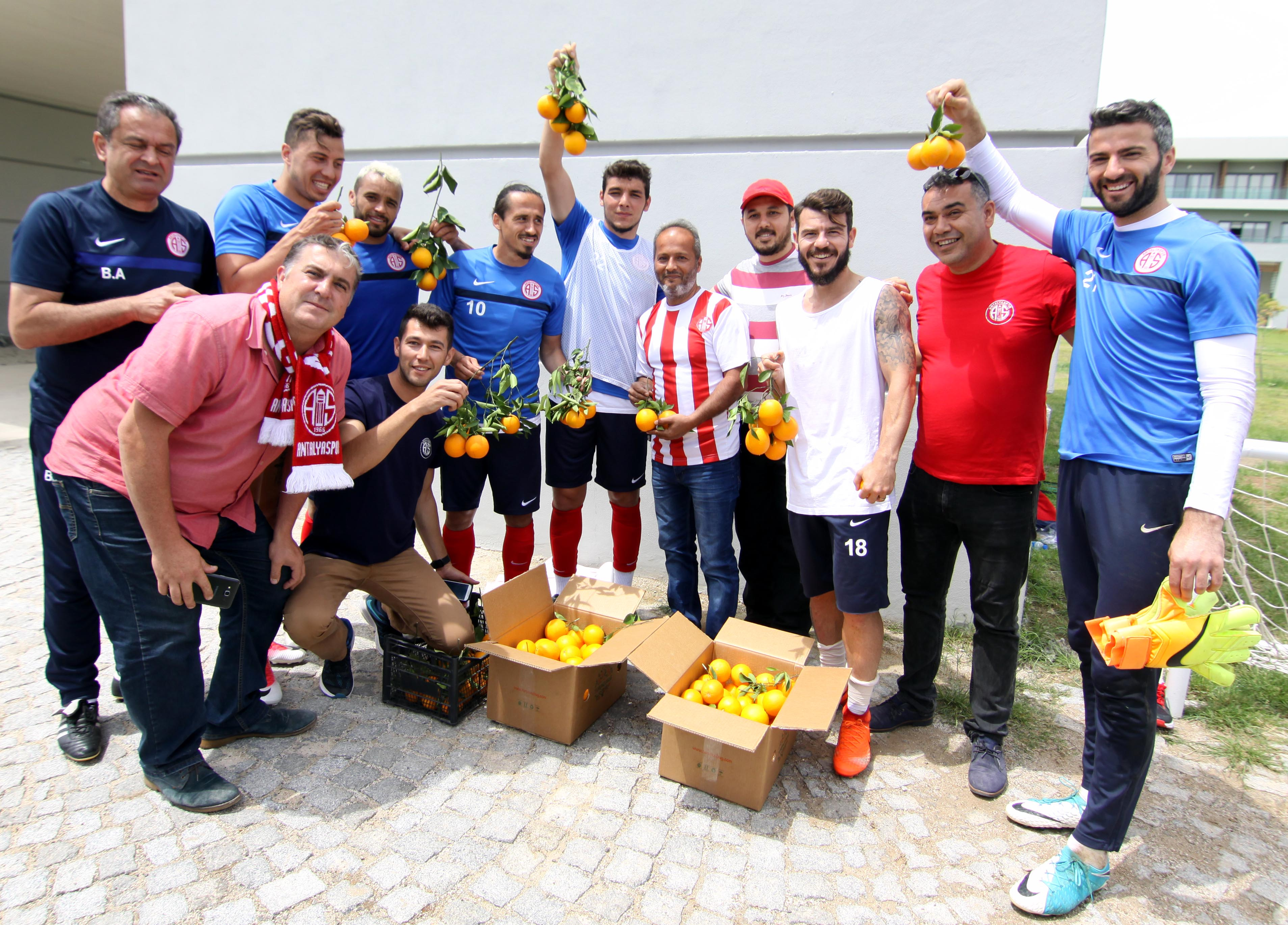 Antalyaspor'a Ziyaretler Sürüyor