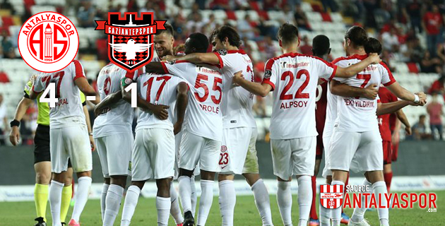 Antalyaspor 4 – 1 Gaziantepspor