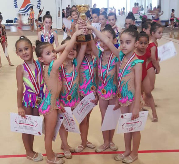 Cimnastikte Madalya Geldi
