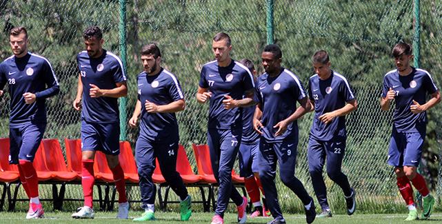 Antalyaspor Bolu Kampını Tamamlıyor