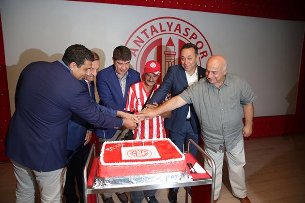 Antalyaspor 51. Yılını Kutladı