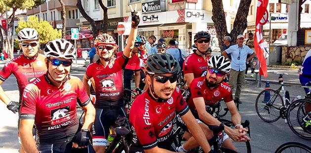 Bisiklet Takımından Marmaris'te Derece