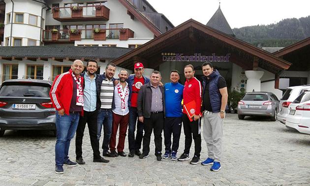 Büyük Antalyaspor Derneği'nden Salzburg Çıkarması