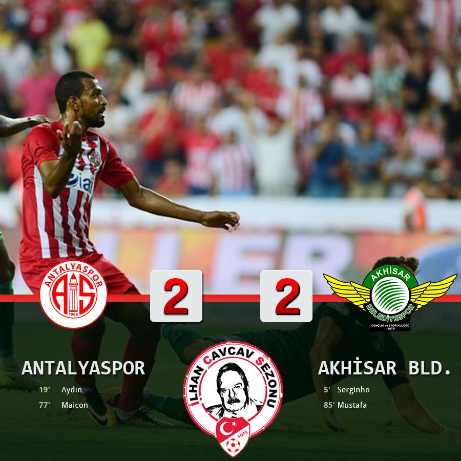 Antalyaspor Sezonun İlk Puanını Aldı: 2-2