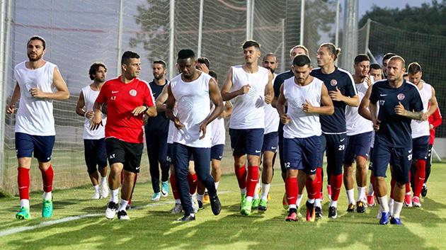 Antalyaspor Hazırlıklara Başladı